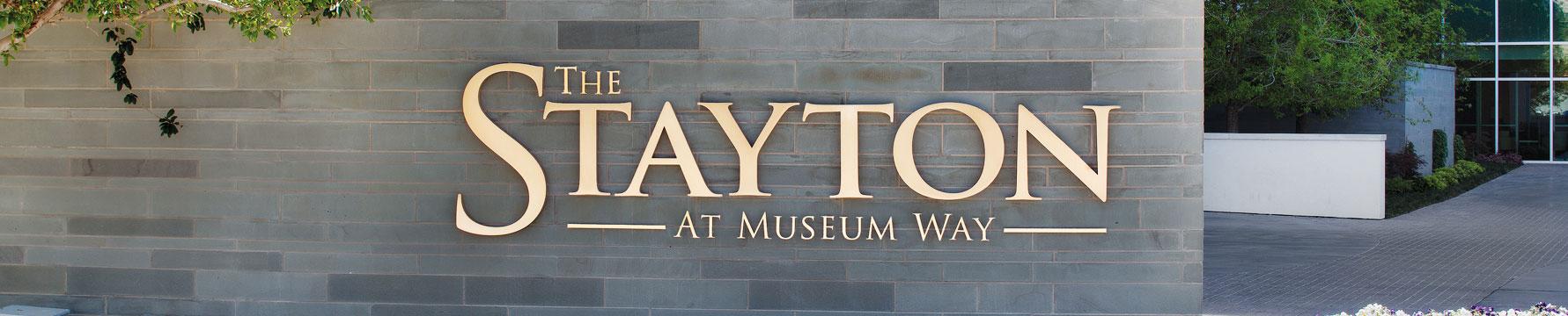 Stayton at Museum Way logo